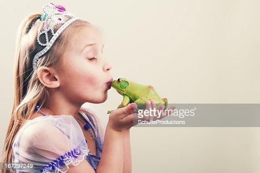 Princess Kissing a Frog
