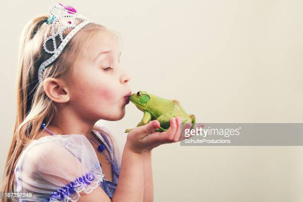 Princess Kissing a Frog
