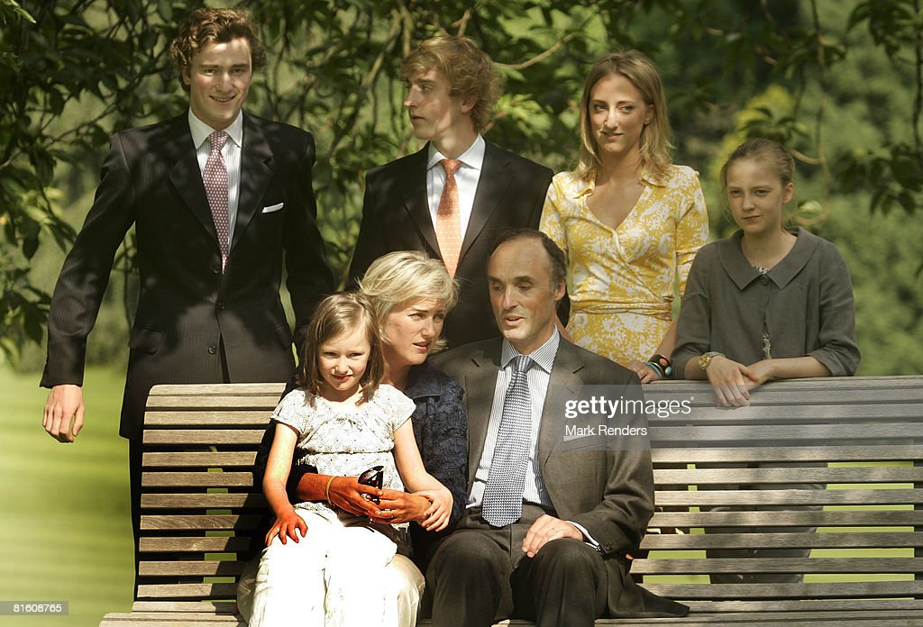 Belgian Royal Family Pose For The Press
