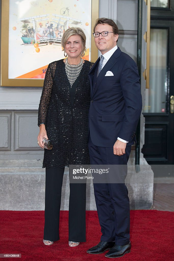 <a gi-track='captionPersonalityLinkClicked' href=/galleries/search?phrase=Princess+Laurentien&family=editorial&specificpeople=212952 ng-click='$event.stopPropagation()'>Princess Laurentien</a> and Prince Constantijn of The Netherlands arrive for festivities marking the final celebrations of 200 years Kingdom of The Netherlands on September 26, 2015 in Amsterdam, Netherlands