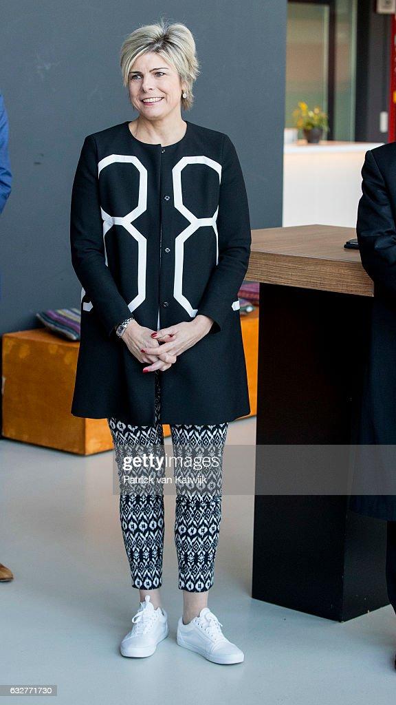 Princess Laurentien of Netherlands attends the Language Heroes award ceremony in Tivoli Vredenburg on January 26, 2017 in Utrecht, The Netherlands.