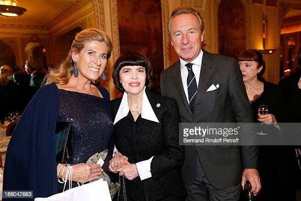 Princess Lea de Belgique Mireille Mathieu and Edouard Vermeulen attend the 50th Anniversary party of Stephane Bern called 'Half a century it's party'...
