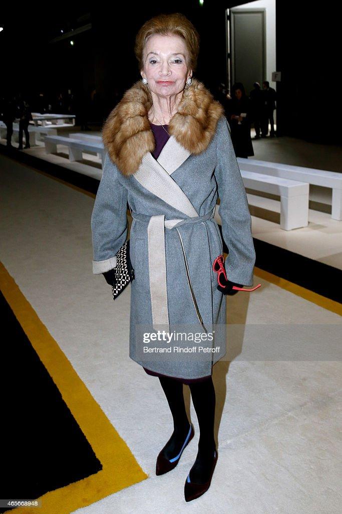 Giambattista Valli : Front Row - Paris Fashion Week Womenswear Fall/Winter 2015/2016