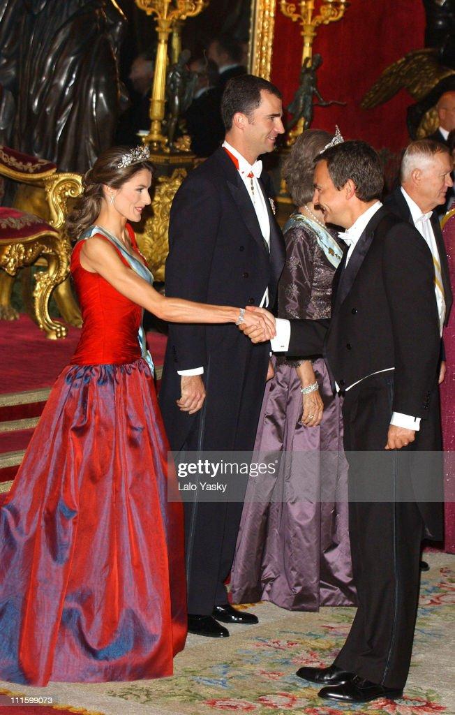 Royal Gala Dinner in Honor of the President of Latvia