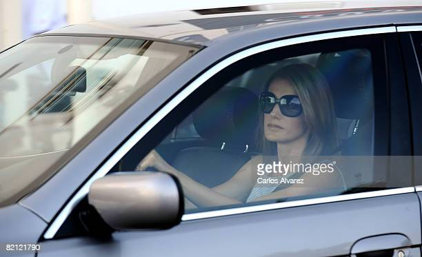Princess Letizia of Spain arrives at the 'Club Nautico' during the 27th Copa del Rey Mapfre Audi Sailing Cup on July 30 2008 in Palma de Mallorca...