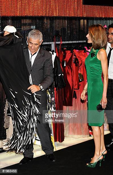 Princess Letizia of Spain attends 60th SIMM Fashion Fair on July 17 2008 at IFEMA in Madrid Spain