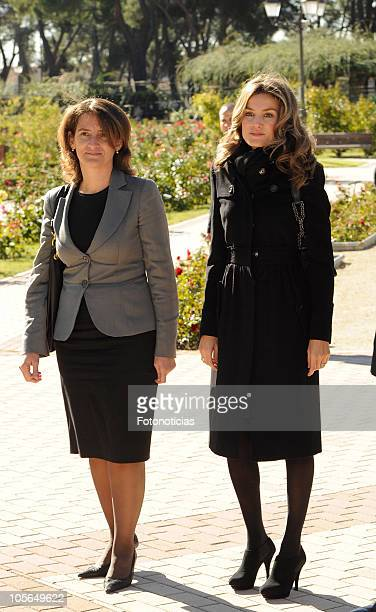 Princess Letizia of Spain attends 'Ciudad Sostenible' awards on October 18 2010 in Madrid Spain