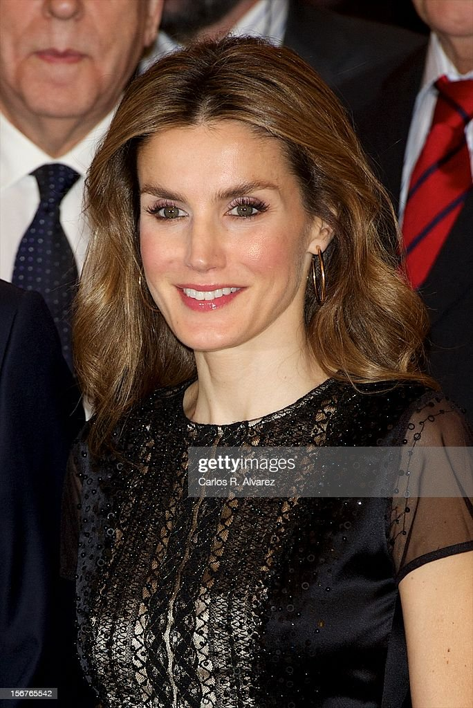 Princess Letizia of Spain attends the 'Francisco Cerecedo Journalism Award' ceremony at the Ritz Hotel on November 20, 2012 in Madrid, Spain.