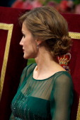 Princess Letizia of Spain attends the 'Prince of Asturias Awards 2013' ceremony at the Campoamor Theater on October 25 2013 in Oviedo Spain
