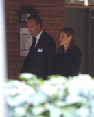 Princess Letizia of Spain expresses her condolences to Jaime de Marichalar on March 14 2014 in Madrid Spain Princess Elena of Spain's ex motherinlaw...