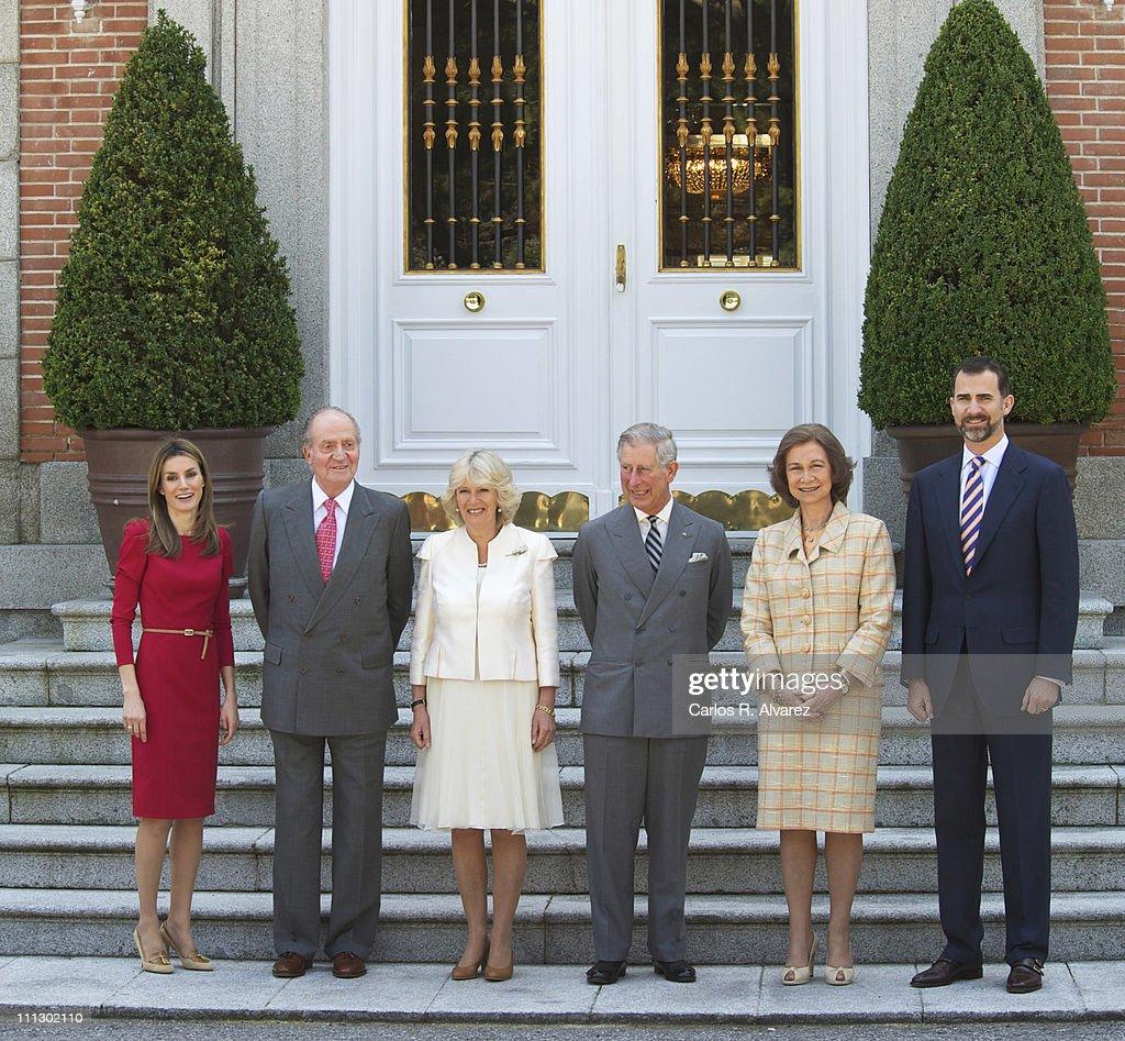 ¿Cuánto mide el Príncipe Carlos? / Prince Charles - Altura - Real height Princess-letizia-of-spain-king-juan-carlos-of-spain-camilla-duchess-picture-id111302110
