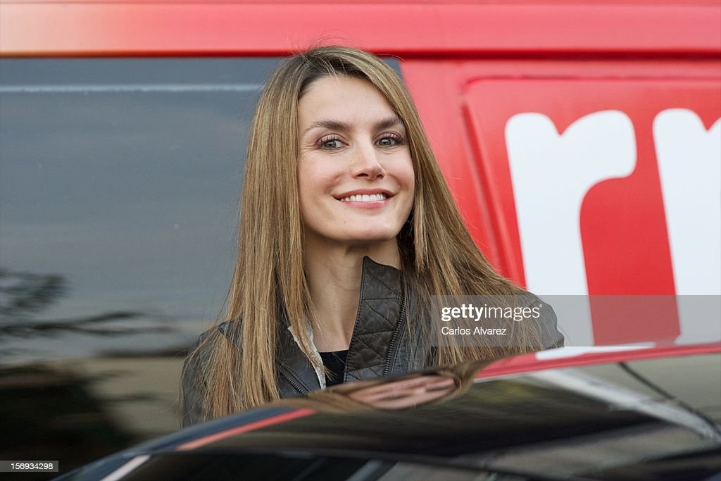 Princess <a gi-track='captionPersonalityLinkClicked' href=/galleries/search?phrase=Letizia+of+Spain&family=editorial&specificpeople=158373 ng-click='$event.stopPropagation()'>Letizia of Spain</a> visits King Juan Carlos of Spain at USP San Jose Hospital on November 25, 2012 in Madrid, Spain. King Juan Carlos of Spain underwent an operation on his left hip.