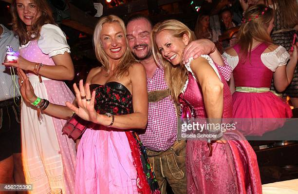 Princess Lilly Sayn Wittgenstein Berleburg Prince Alexander zu Schaumburg Lippe and his wife Princess Nadja zu Schaumburg Lippe during Oktoberfest at...