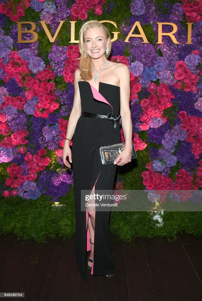 Princess Lilly Zu Sayn Wittgenstein Berleburg attends Bulgari's Pre-Oscar Dinner at Chateau Marmont on February 25, 2017 in Hollywood, United States.