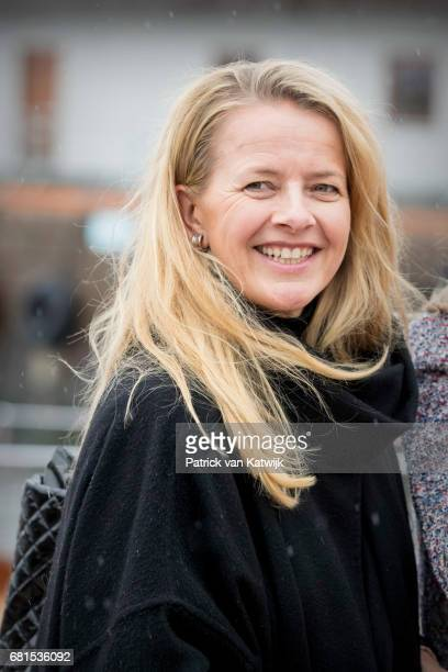 Princess Mabel of OrangeNassau attends a lunch on the Royal yatch Norge on the ocassion of the celebration of King Harald and Queen Sonja of Norway...