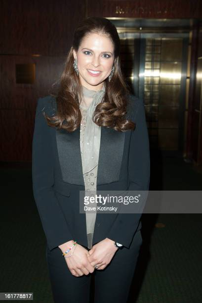 Princess Madeleine attends Stockholm Concert Hall Foundation Presents The Royal Stockholm Philharmonic Orchestra at Carnegie Hall on February 15 2013...
