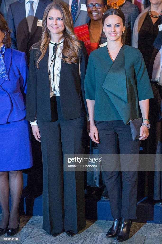Swedish Royals Attend Global Child Forum