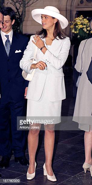 Princess Madeleine Of Sweden Attends Queen Margrethe Ii Of Denmark'S 60Th Birthday Celebrations In CopenhagenReception At The Town Hall