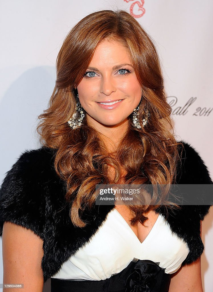 Princess Madeleine of Sweden attends the 2011 Angel Ball To Benefit Gabrielle's Angel Foundation at Cipriani Wall Street on October 17 2011 in New...
