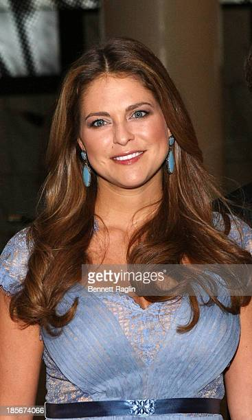 Princess Madeleine of Sweden attends the 2013 New York Green Summit and royal gala award dinner at Apella on October 23 2013 in New York City