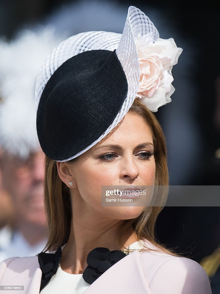 <a gi-track='captionPersonalityLinkClicked' href=/galleries/search?phrase=Princess+Madeleine+of+Sweden&family=editorial&specificpeople=160243 ng-click='$event.stopPropagation()'>Princess Madeleine of Sweden</a> attends the celebrations of the Swedish Armed Forces for the 70th birthday of King Carl Gustaf of Sweden on April 30, 2016 in Stockholm, Sweden.