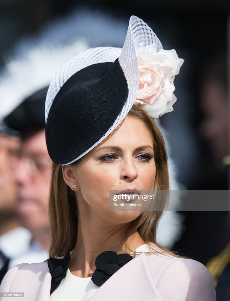 Princess Madeleine of Sweden attends the celebrations of the Swedish Armed Forces for the 70th birthday of King Carl Gustaf of Sweden on April 30, 2016 in Stockholm, Sweden.