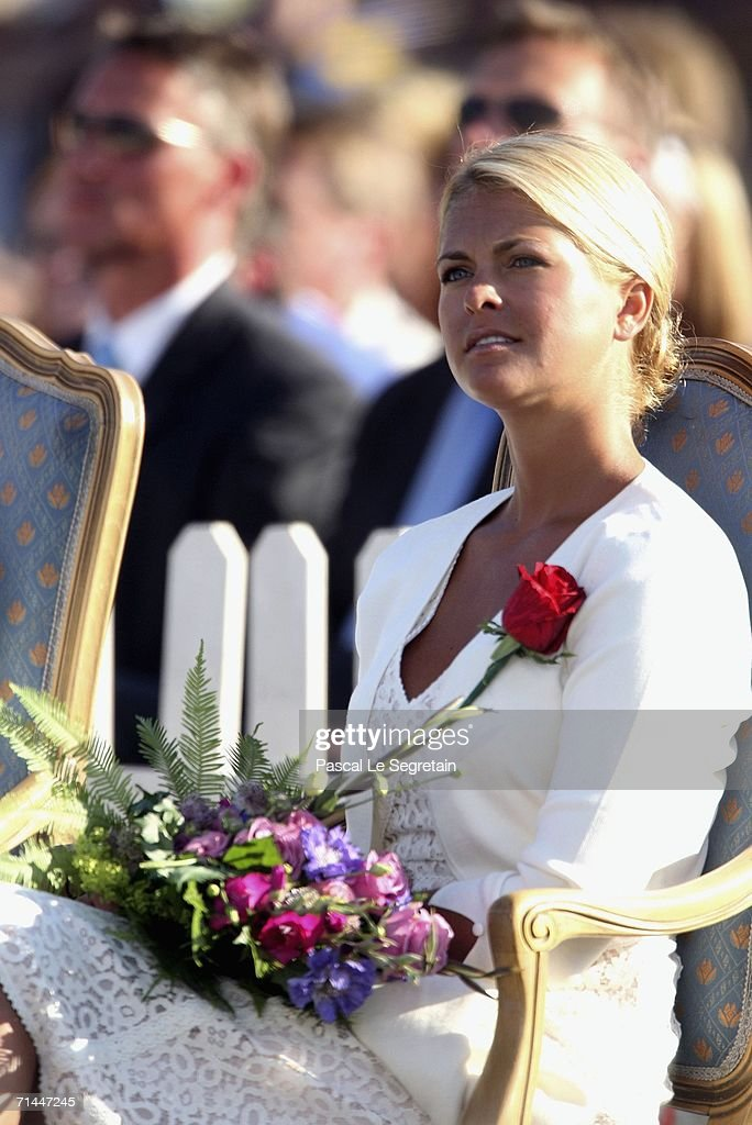 Princess Madeleine of Sweden attends the Princess Victoria's Birthday concert on July 14 2006 in Borgholm Sweden