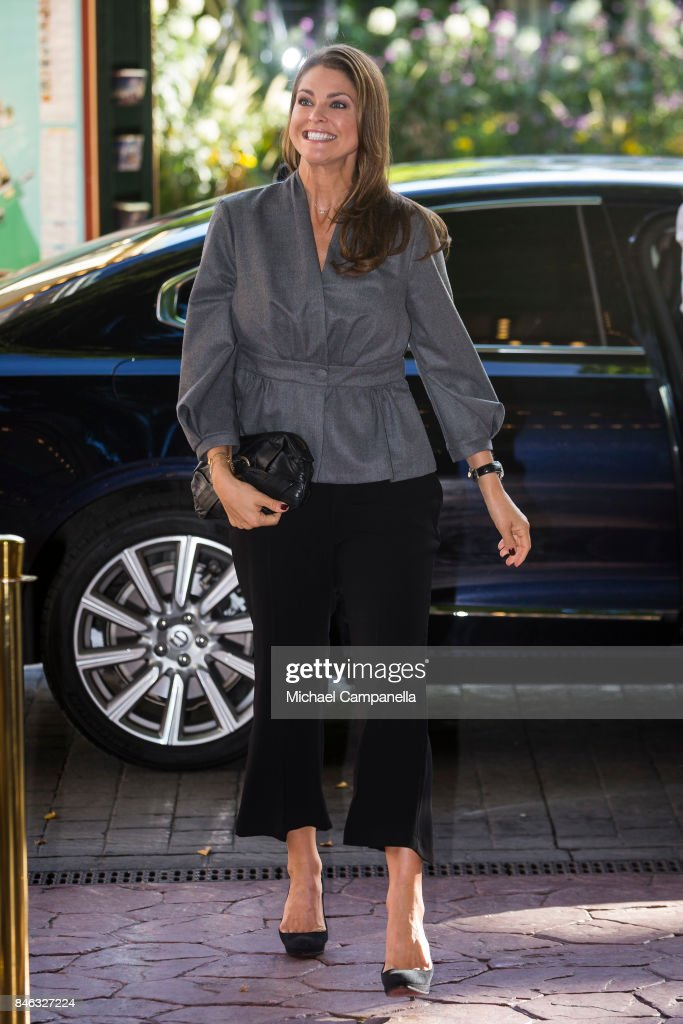 Princess Madeleine of Sweden attends the 'The Invisibility Project' seminar hosted by My Great-Day foundation at Grona Lund on September 13, 2017 in Stockholm, Sweden.