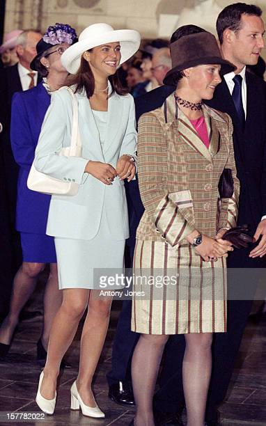 Princess Madeleine Of Sweden Crown Prince Haakon Princess Martha Louise Of Norway Attend Queen Margrethe Ii Of Denmark'S 60Th Birthday Celebrations...