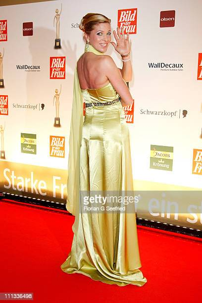 Princess Maja Synke von Hohenzollern attends the 'Goldene BILD der FRAU Award' at Axel Springer Haus on March 31 2011 in Berlin Germany