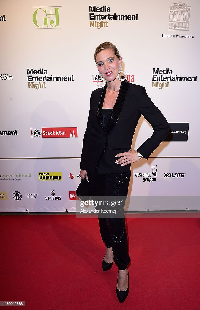 Princess Maja Synke von Hohenzollern attends the Media Entertainment Night at Hotel im Wasserturm on May 9, 2014 in Cologne, Germany.