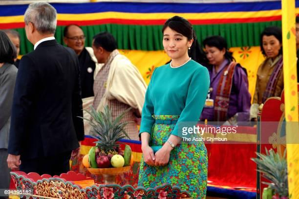 Princess Mako of Akishino the Japan Week on June 2 2017 in Thimphu Bhutan