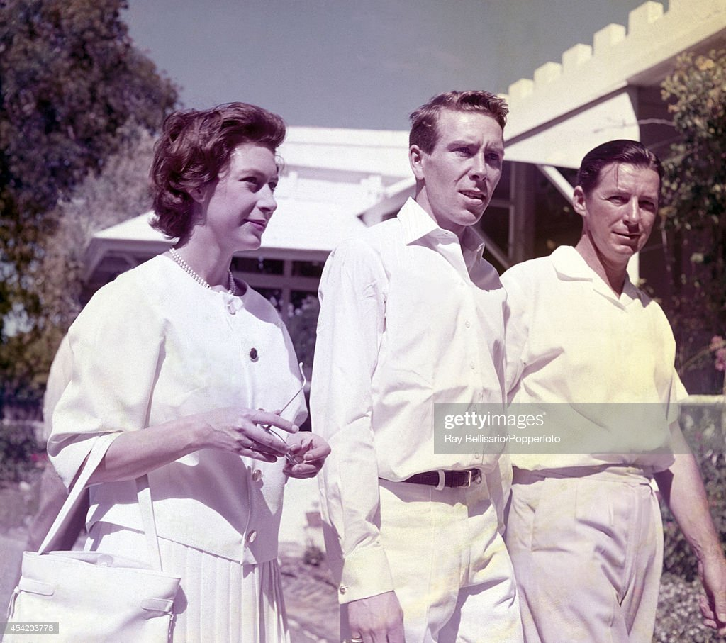Princess Margaret and Lord Snowdon (centre) on holiday in the grounds of Government House, St John's, Antigua on 6th January 1962.