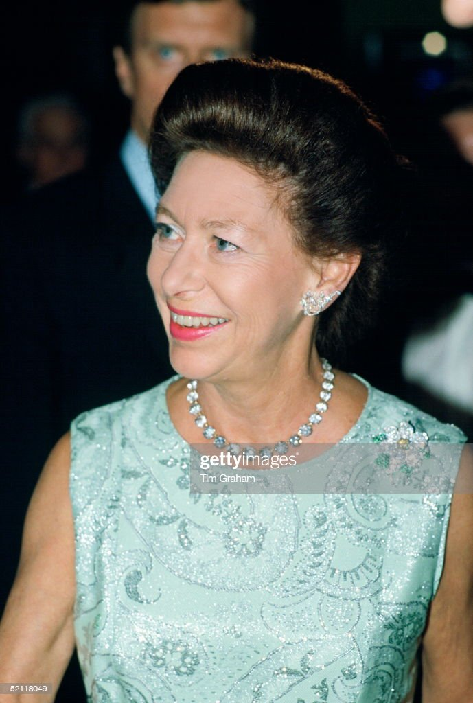 Princess Margaret At The Adelphi Theatre, London, For A Performance Of 'night Of 100 Stars.' It Is In Aid Of Sunshine Homes And Schools For Blind Children.