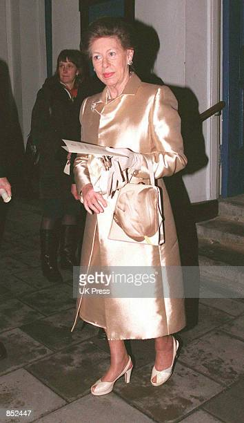 Princess Margaret attends a Carol Concert at the Grosvenor Chapel December 15 1998 in London England