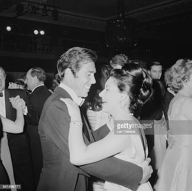 Princess Margaret Countess of Snowdon dancing with her husband Antony ArmstrongJones 1st Earl of Snowdon at the Canadian Women's Club Centenary Ball...