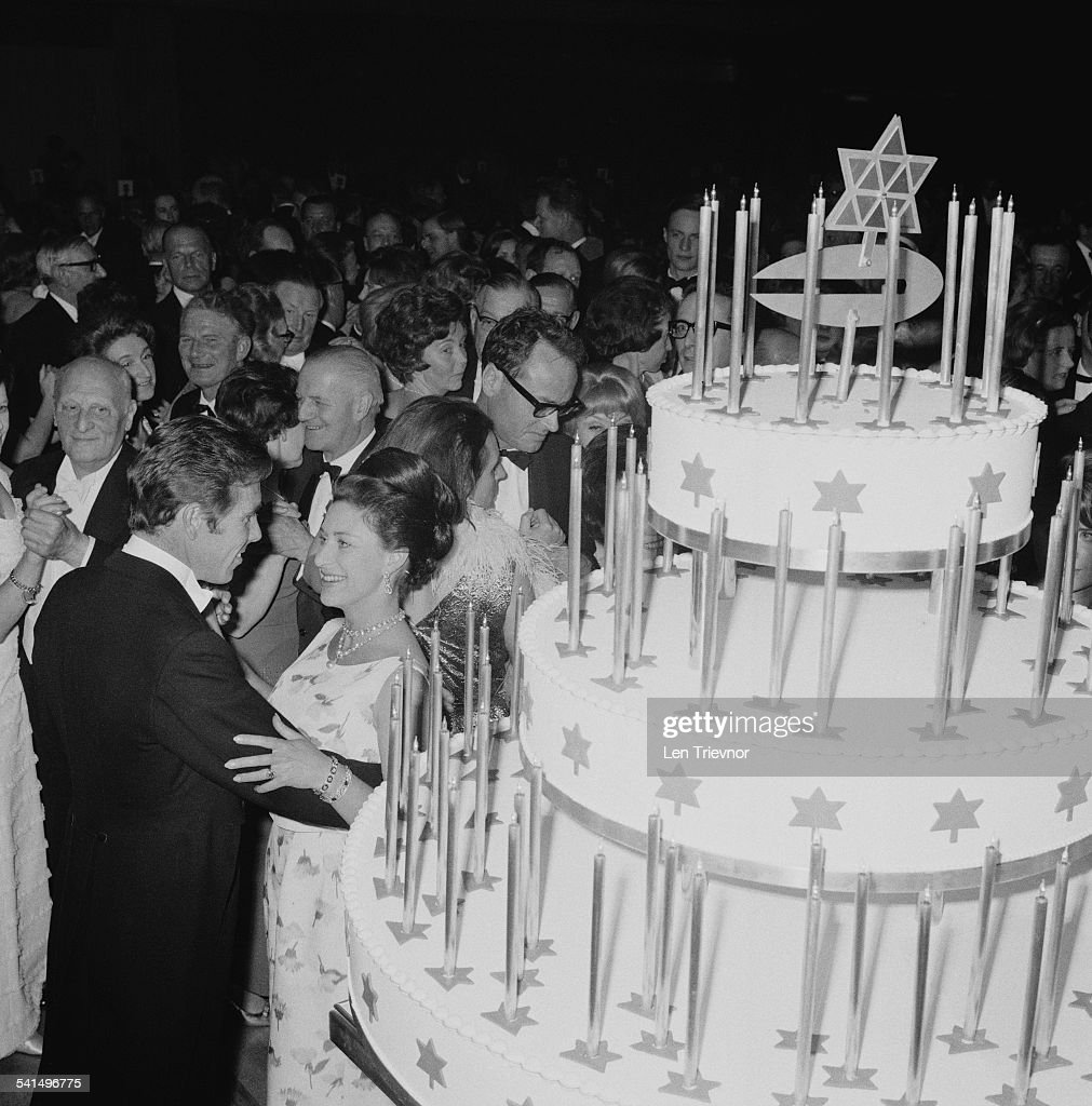 Princess Margaret Countess of Snowdon (1930 - 2002) dancing with her husband Antony Armstrong-Jones - 1st Earl of Snowdon at the Canadian Women's Club Centenary Ball at Grosvenor House, London, 18th April 1967.