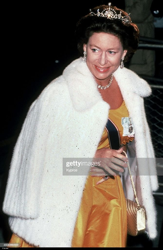 Princess Margaret, Countess of Snowdon (1930 - 2002), London, UK, circa 1990.