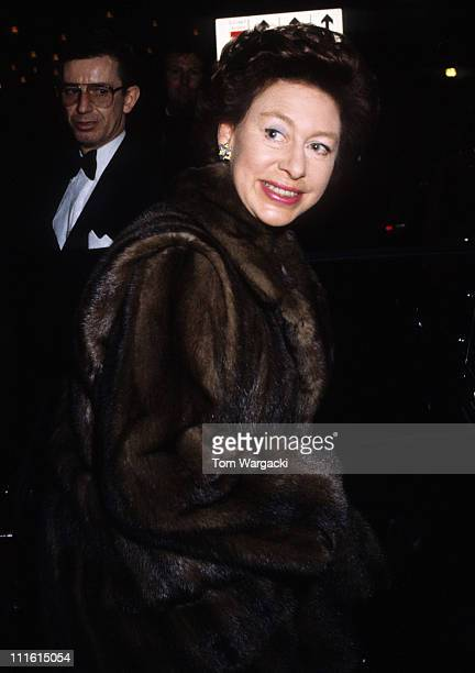 Princess Margaret during Miss World Ball 1980 at Grosvenor House Hotel in London Great Britain