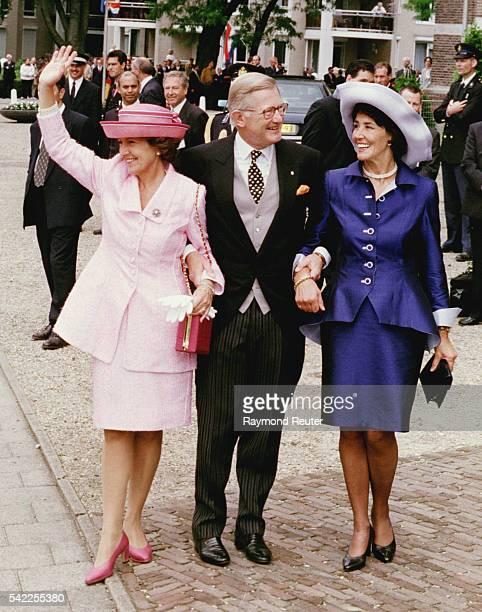 Princess Margriet her husband Pieter Van Vollenhoven Josee Van den Broek