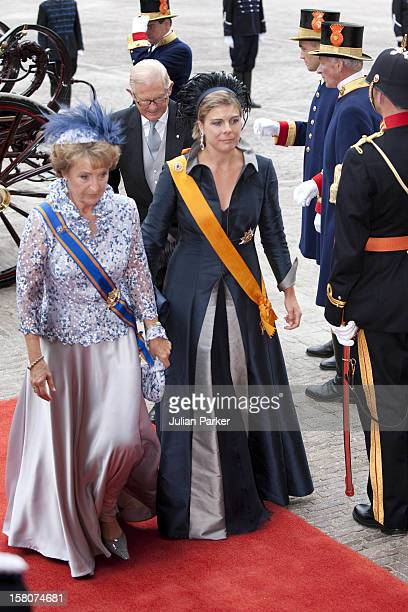 Princess Margriet Of Holland And Princess Laurentien Of Holland Arrive At The Ridderzaal In Den Haag On Prince'S Day For The Dutch Opening Of...