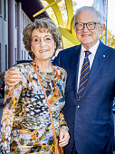 Princess Margriet Of The Netherlands And Pieter Van...