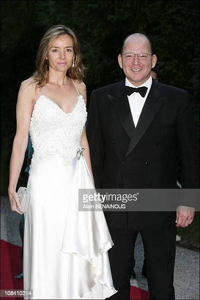 Princess Maria and Prince Kardam of Bulgaria Grand Duke Henri and Grand Duchess Maria Teresa gave a dinner and hosted a dance at the Berg castle The...