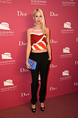 Princess Maria Olympia of Greece attends the 2015 Guggenheim International Gala PreParty made possible by Dior at Solomon R Guggenheim Museum on...