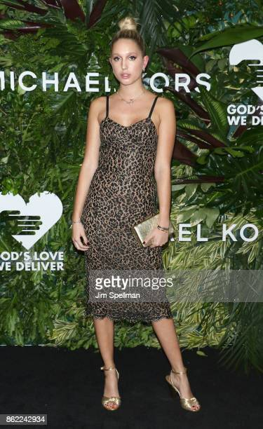 Princess MariaOlympia of Greece attends the 11th Annual God's Love We Deliver Golden Heart Awards at Spring Studios on October 16 2017 in New York...