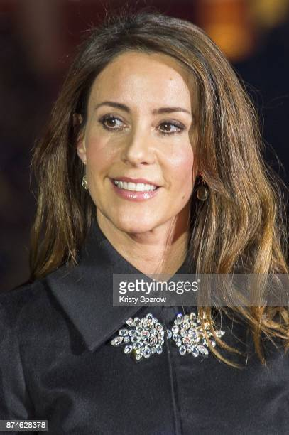 Princess Marie Cavallier of Denmark attends the Godjul Joyeux Noel Danois Christmas Decorations Inauguration at BHV Marais on November 15 2017 in...