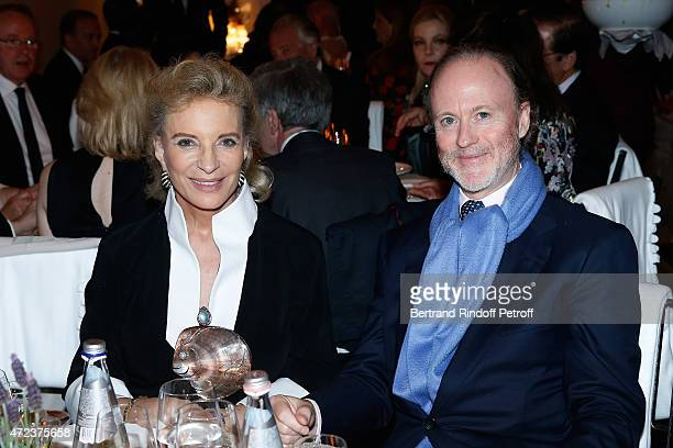 Princess Marie Christine of Kent and Prince Pierre D' Arenberg attend the Dinner At 'Fondazione Cini Isola Di San Giorgio' 2015 Venice Biennale on...