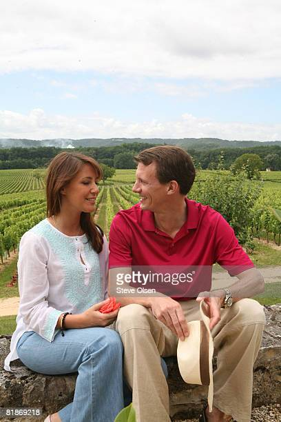 Princess Marie of Denmark and Prince Joachim of Denmark spend summer holidays at their family home at Chateau Caix on July 8 2008 in Caix France