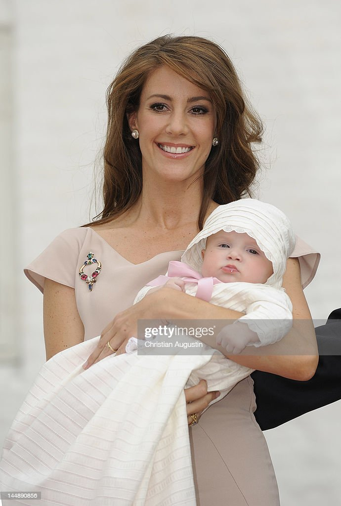 Christening of Prince Joachim and Princess Marie of Denmark's Daughter