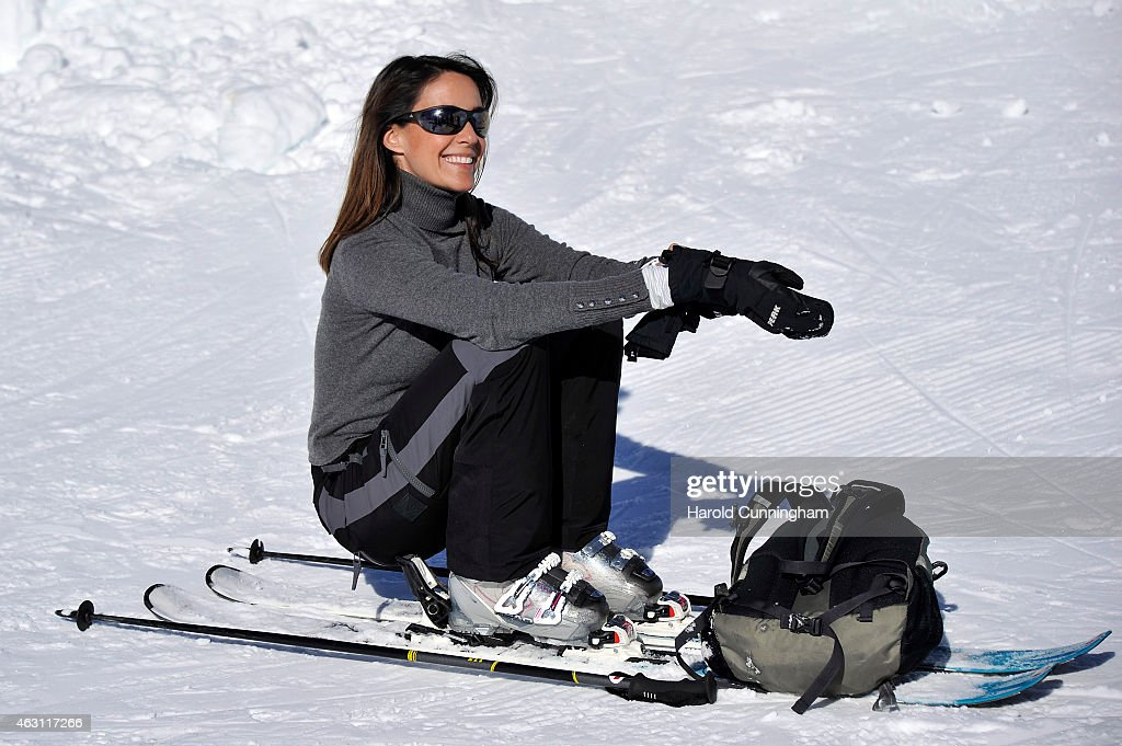 Princess Marie of Denmark attends the Danish Royal family annual skiing photocall whilst on holiday on February 10, 2015 in Col-de-Bretaye near Villars-sur-Ollon, Switzerland.